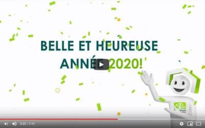 Bonne année 2020 ! avec Batiman comipa à Pau